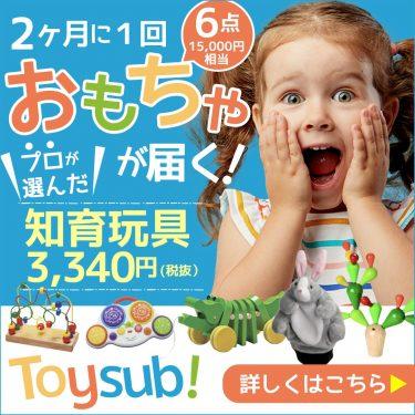 【トイサブ!】知育玩具の定額レンタルサービス(子供の年齢でカスタマイズ)の裏側を読み解く