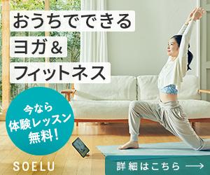地元で評判のオンラインヨガ【SOELUソエル】(1日100レッスン以上)