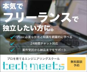 専門家も放っておかない!今こそオンラインエンジニアリングスクール【techmeets(テックミーツ)】を理解しよう!