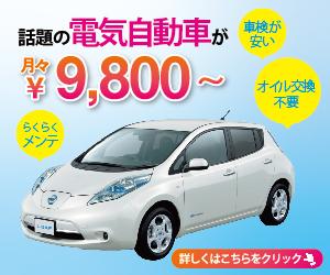 また電気自動車専門Naviの季節がやってきたよ!