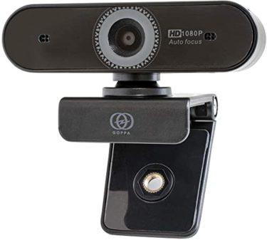 GOPPA ウェブカメラ オートフォーカス機能搭載 フルHD 200万画素 1920×1080対応 マイク内蔵 GP-UCAM2FA/Eショック